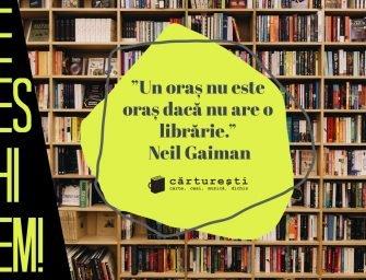 Vești bune din librărie: redeschidem!