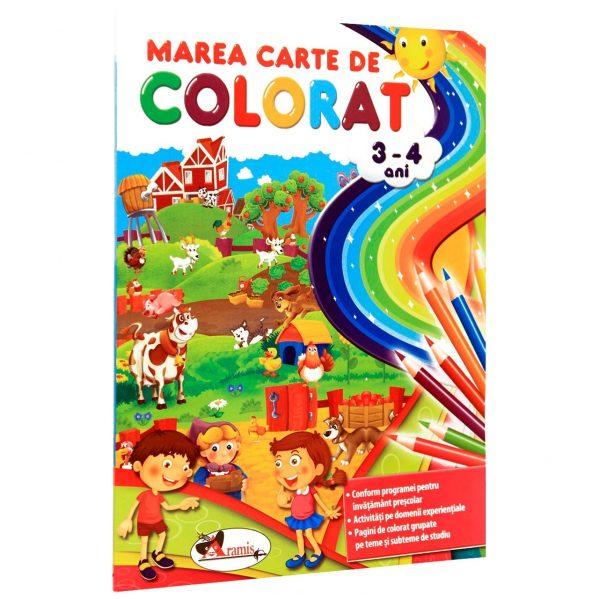 carte de colorat copii