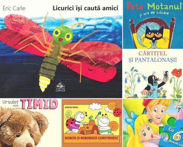 carti pentru copii 1-4 ani