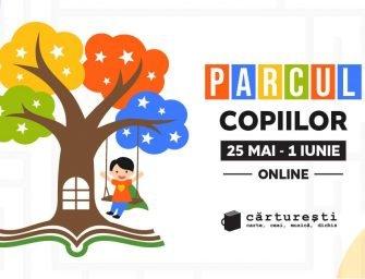 Parcul copiilor. Ateliere virtuale pentru copii la Cărturești