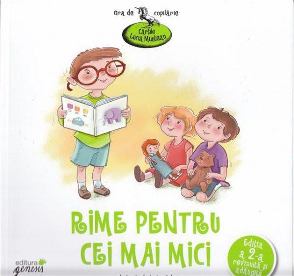 carti de poezii pentru copii mici