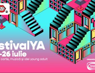FestivalYA Check-Out: peste 700 de participanți și peste 300.000 de vizualizări