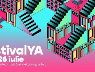 Dă check-in la FestivalYA, primul festival online de literatură young adult, idei și muzică!