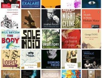 Preferatele redacției: un top subiectiv al cărților care ne-au ținut companie în 2020