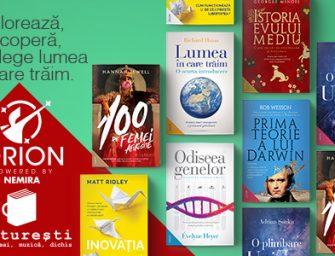 ORION. O nouă colecție de carte în portofoliul editurii Nemira