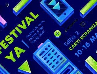 FestivalYA: Ediția 2 | Cărți ecranizate. Program & înscrieri