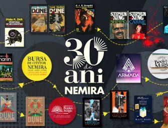 Nemira la 30 de ani: plăcerea lecturii sau povestea pasiunii pentru carte