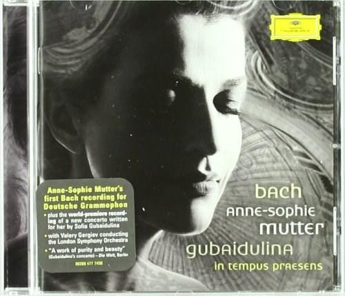 Bach: Violin Concertos BWV1041 & BWV1042; Gubaidulina: Violin Concerto ''In tempus praesens''