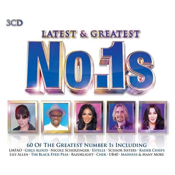 Latest & Greatest No.1s 3CD Box Set