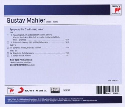 Mahler: Symphony No. 5 - Sony Classical Masters