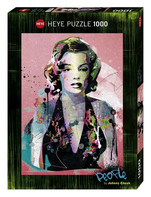 Puzzle 1000 piese People Marilyn | Heye
