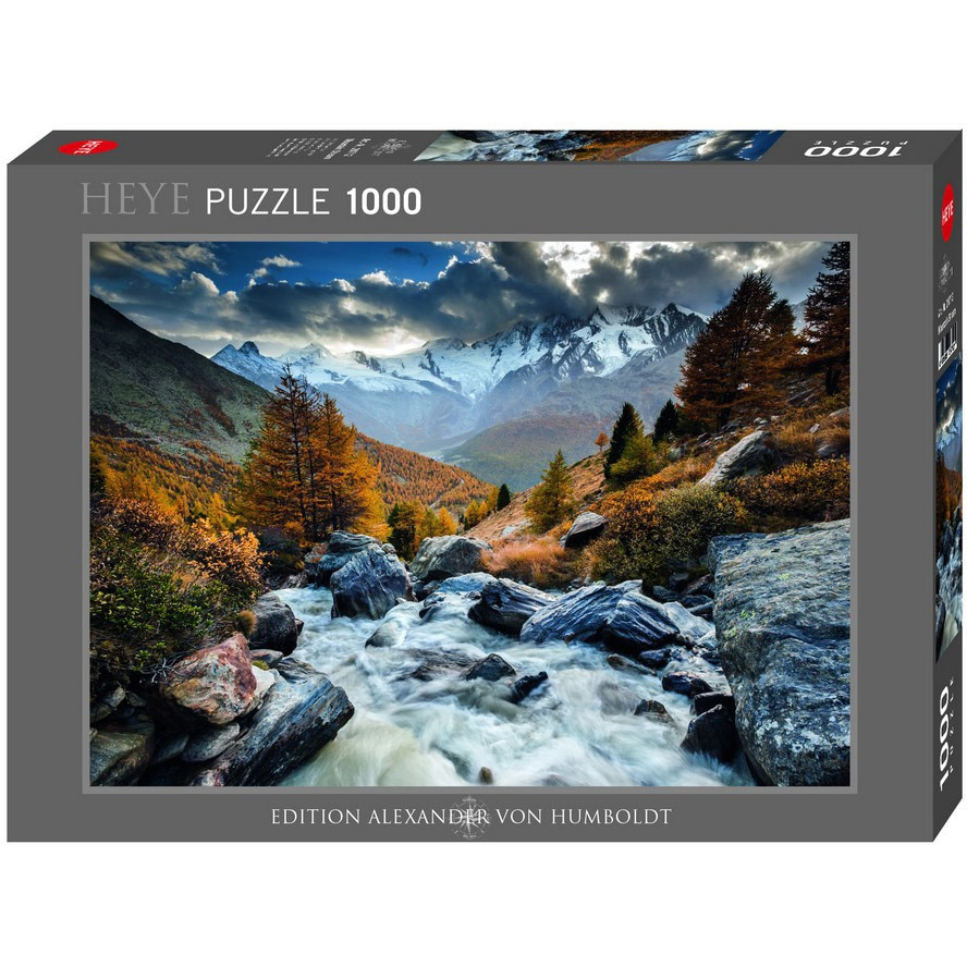 Puzzle Mountain Stream, 1.000 piese | Heye