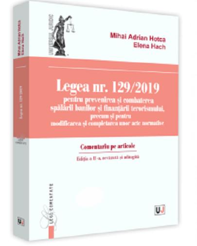 Legea nr. 129/2019