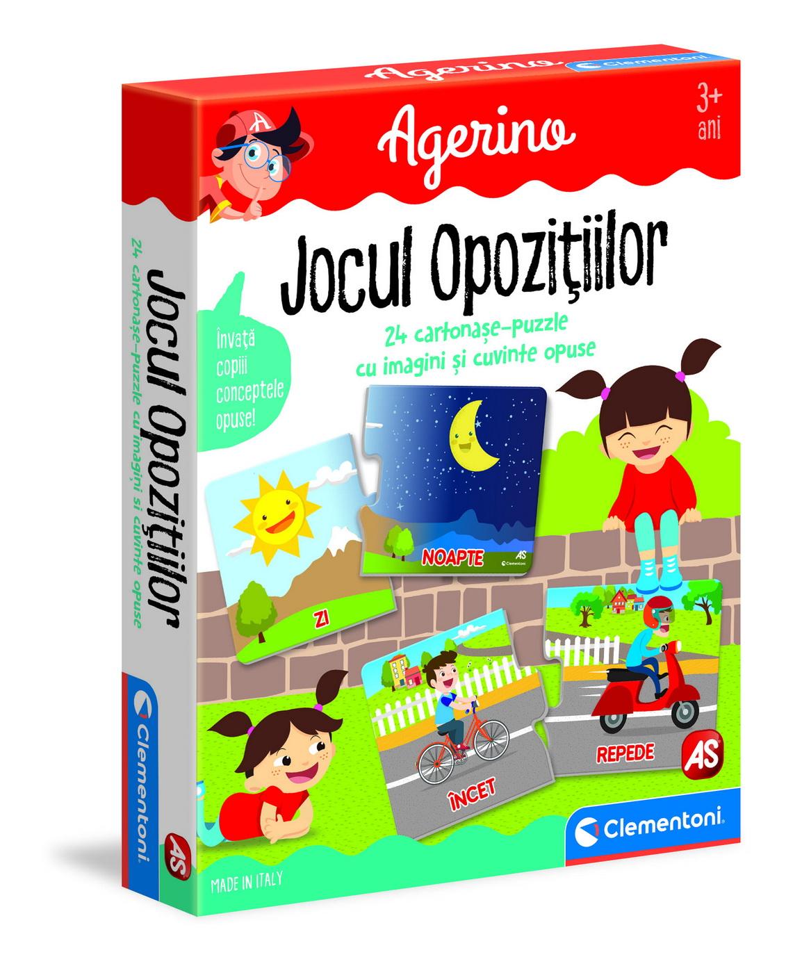 Joc - Agerino: Jocul Opozitiilor | Clementoni