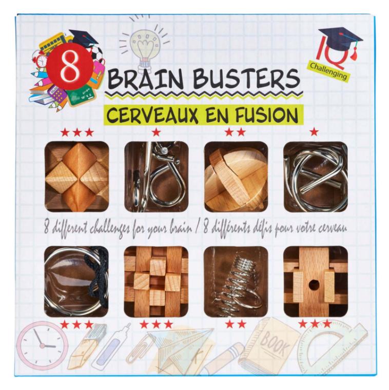 Set puzzle-uri mecanice - Brain Busters | Eureka
