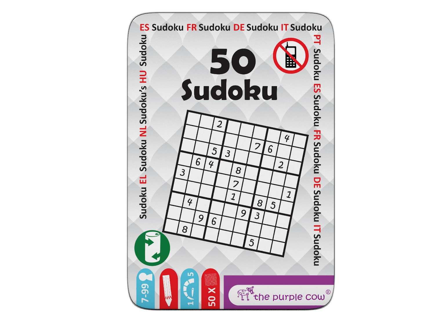 Joc - Fifty - Sudoku | The Purple Cow