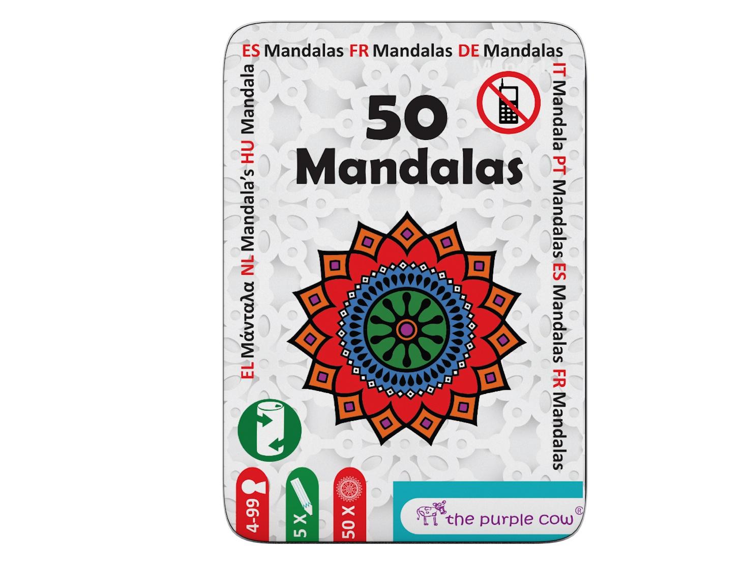 Joc - Fifty - Mandalas   The Purple Cow