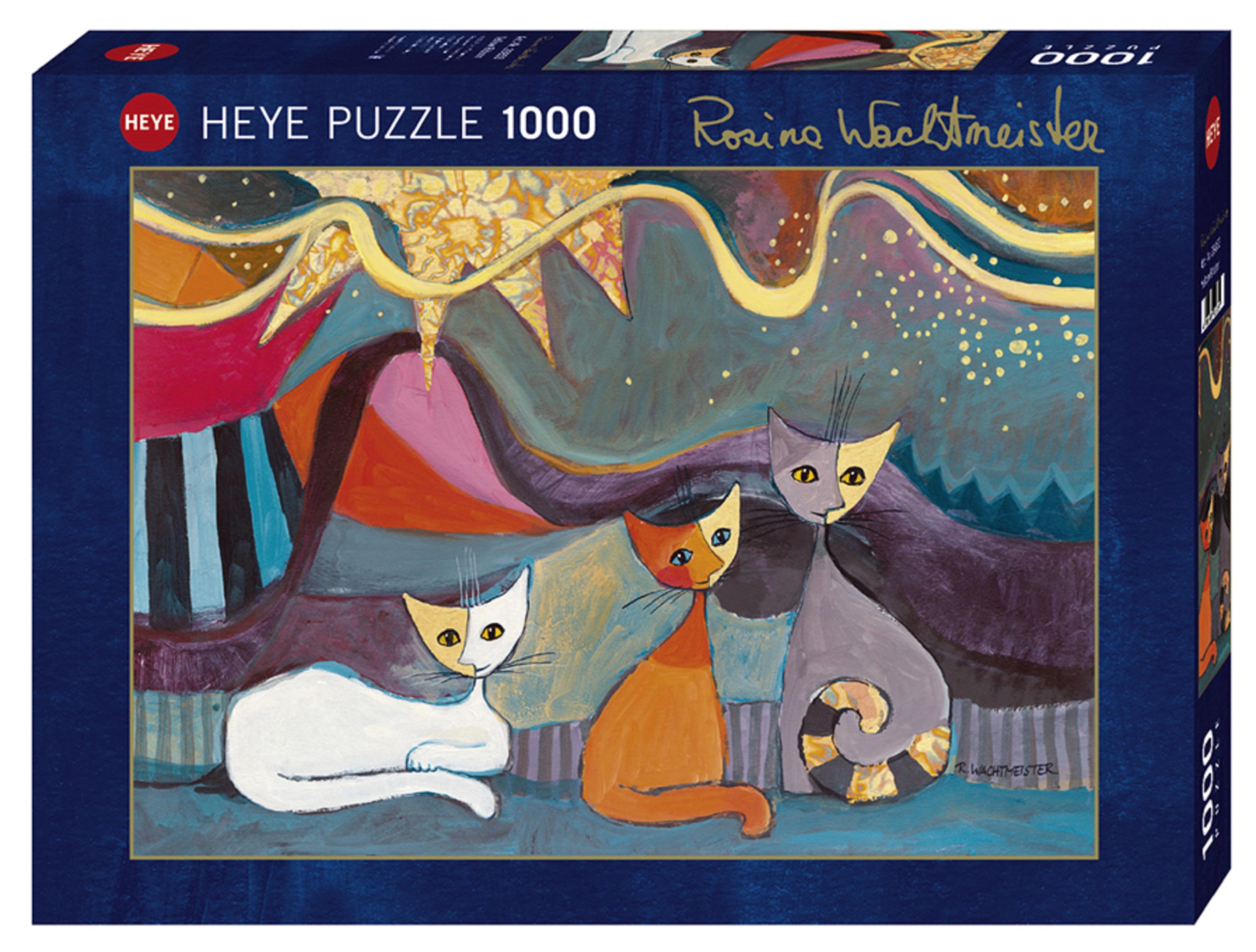 Puzzle 1000 piese - Funda Galbena |