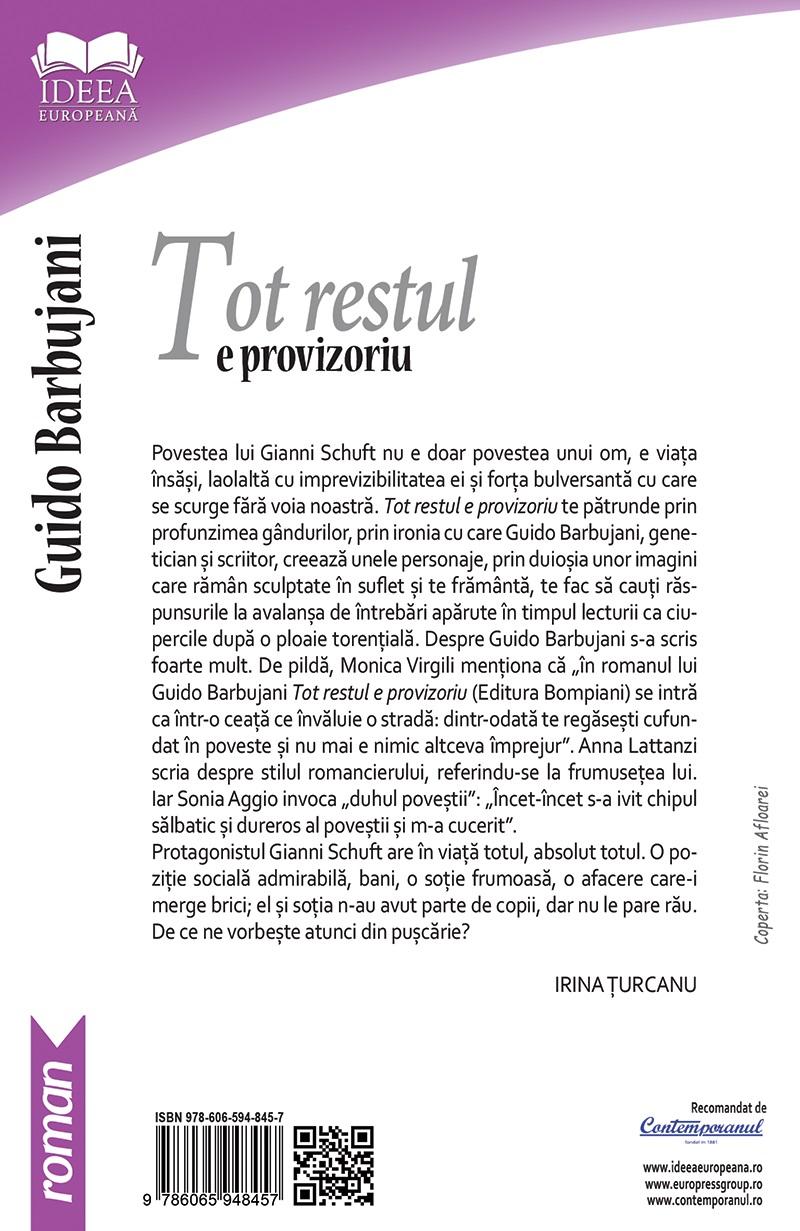 Tot restul e provizoriu | Guido Barbujani - 1