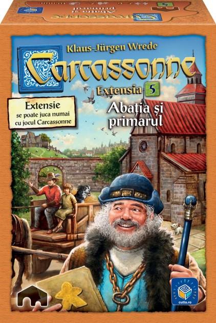 Carcassonne - Extensia V - Abatia si primarul   Hans Im Gluck