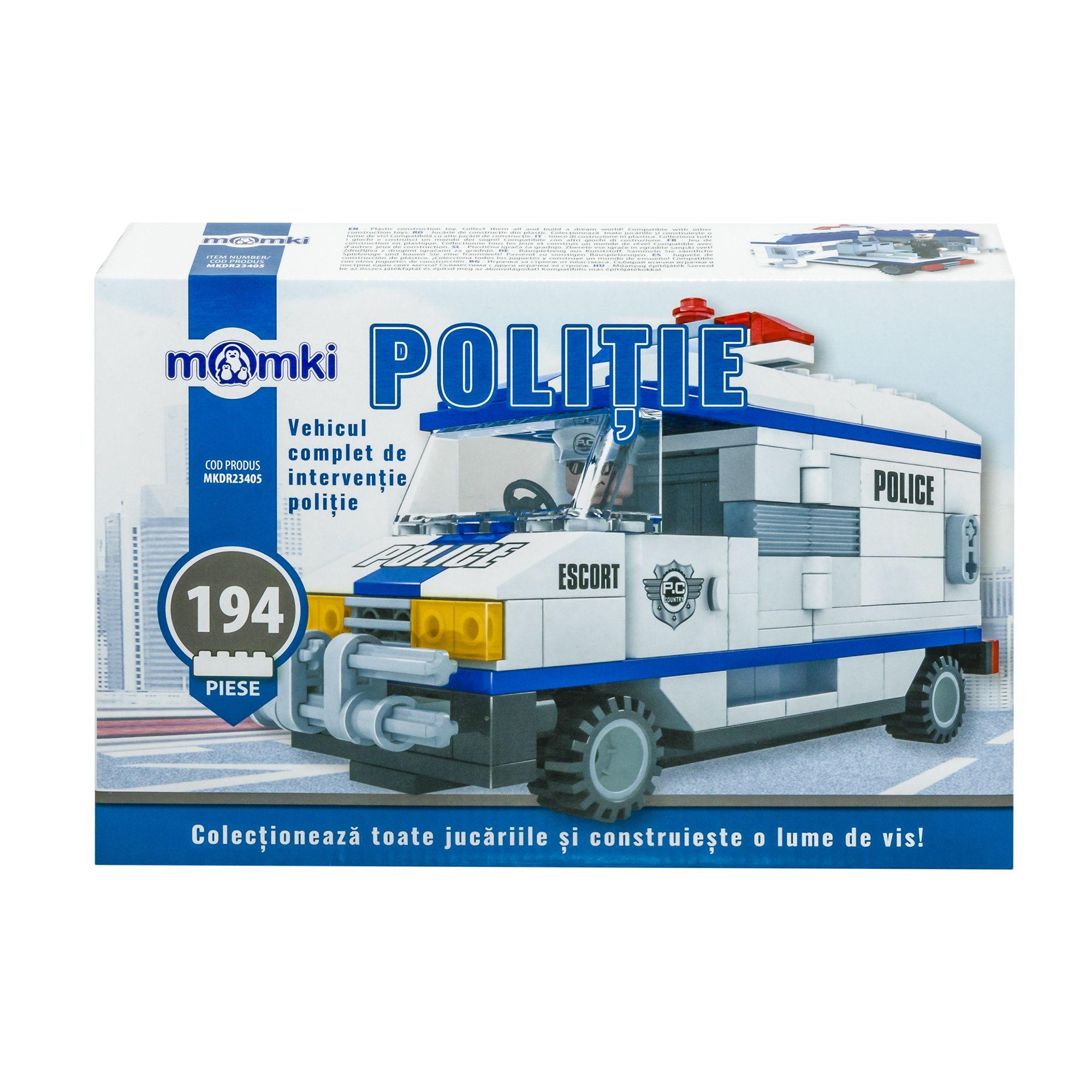 Set de constructie - Centru de comanda politie | Momki