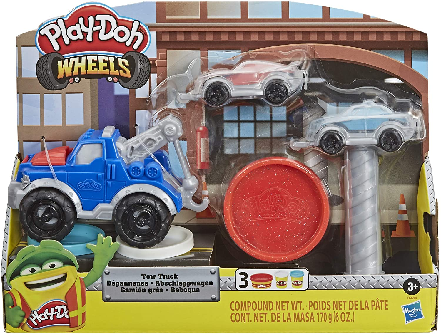 Set joaca - Play-Doh Wheels: Tow Truck | Hasbro
