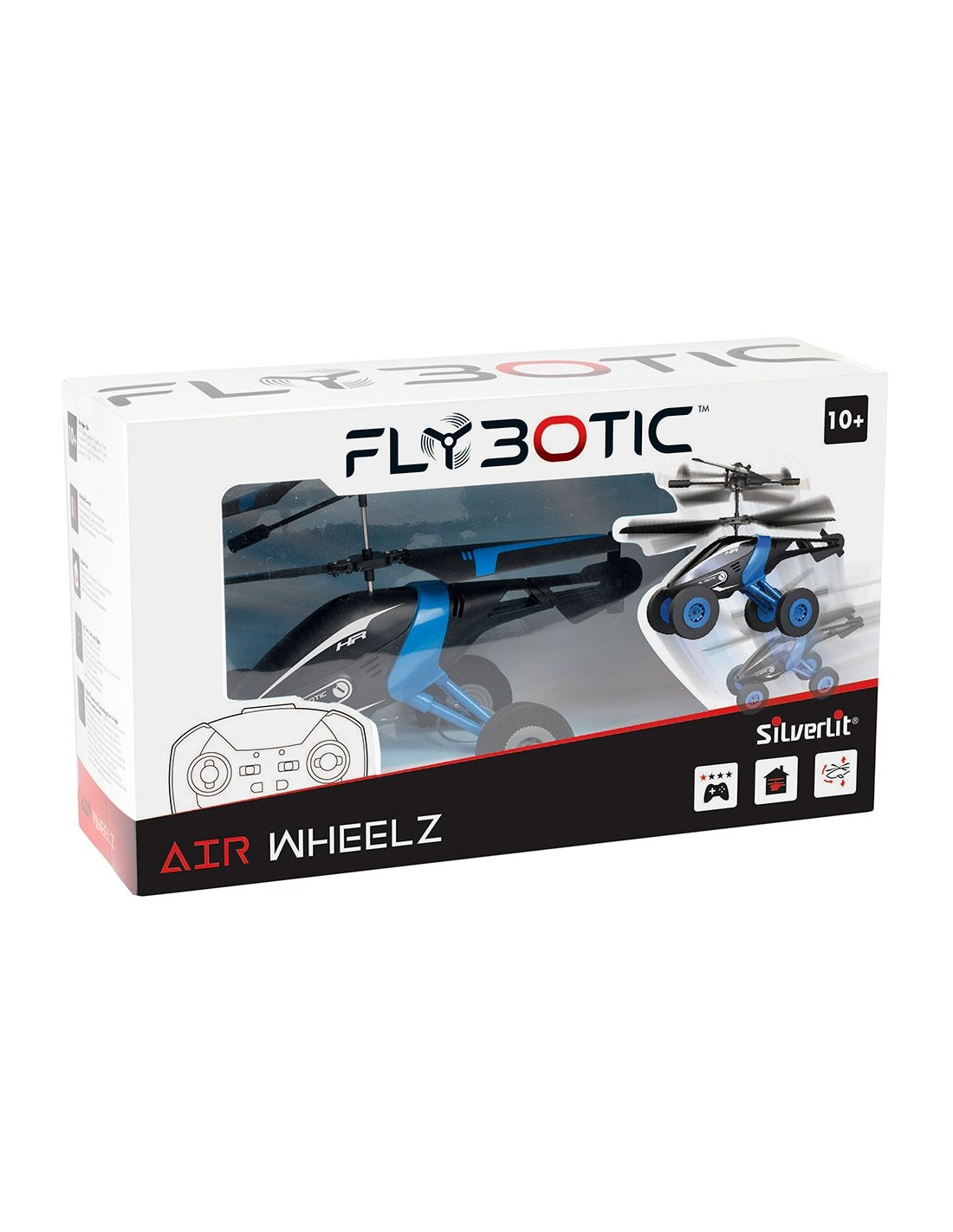 Elicopter cu telecomanda Air Wheelz - 2 culori diferite | Silverlit