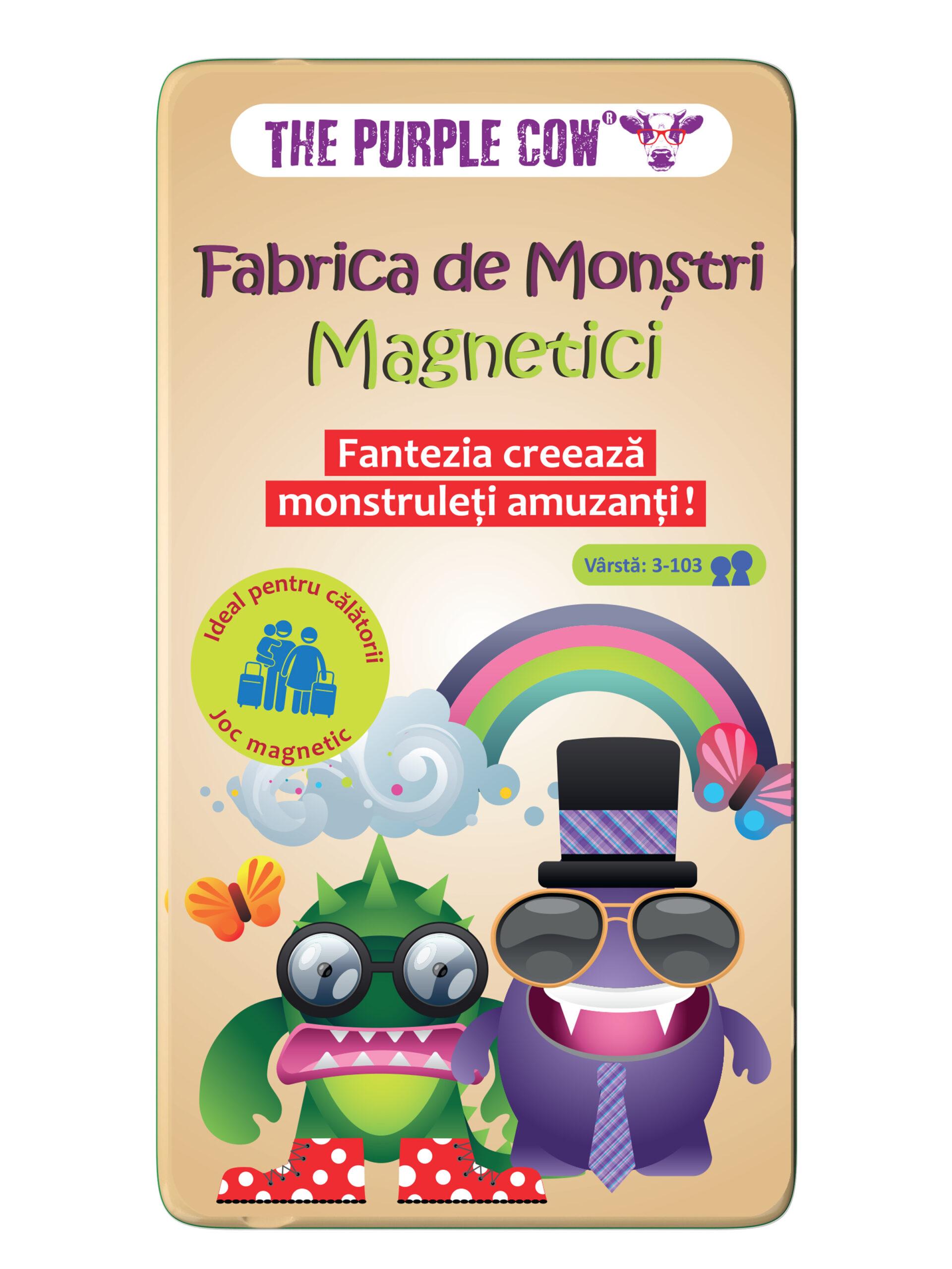 Joc - Fabrica de Monstri Magnetici   The Purple Cow