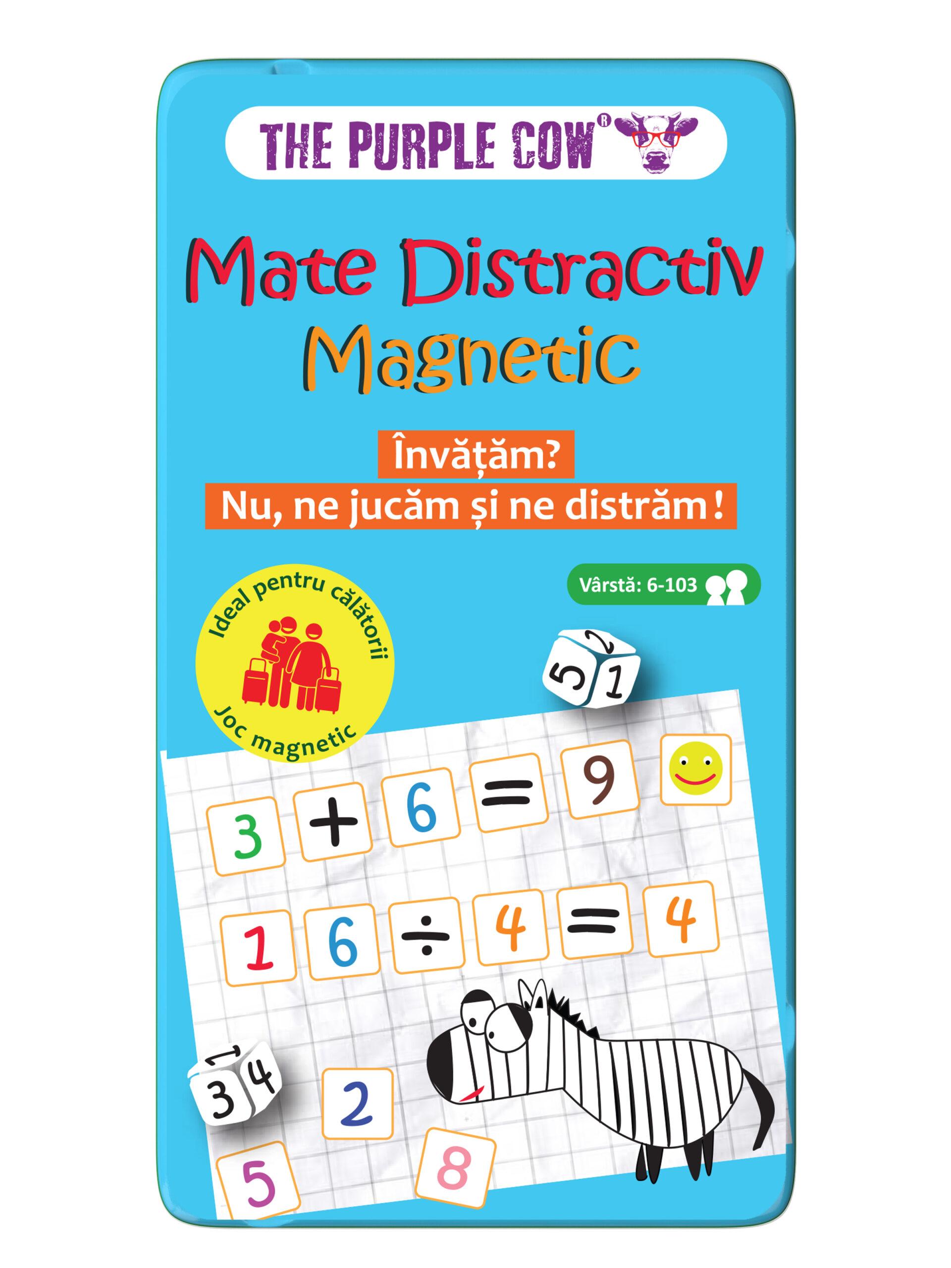Joc - Mate distractiv magnetic | The Purple Cow
