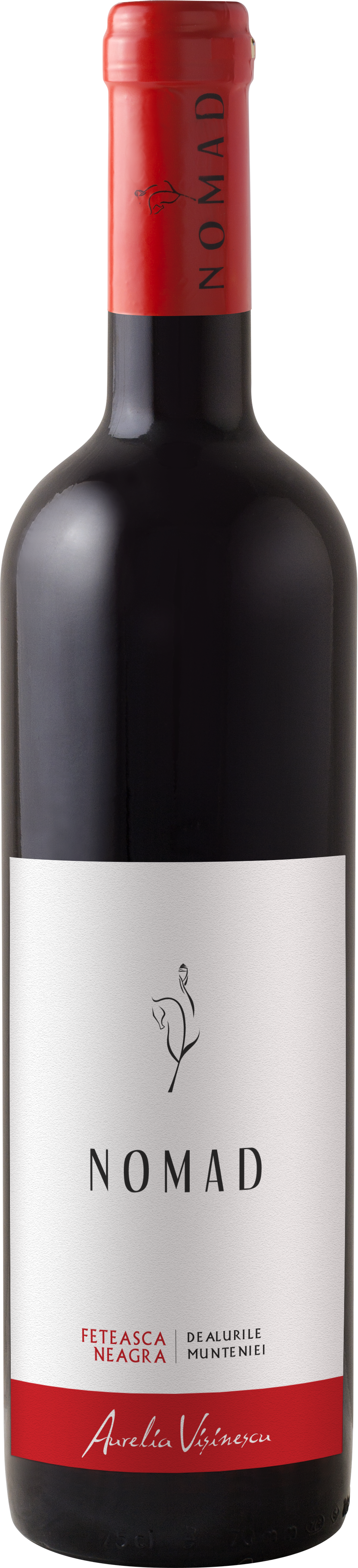 Vin rosu - Aurelia Visinescu / Nomad, Feteasca Neagra, 2015, sec Aurelia Visinescu