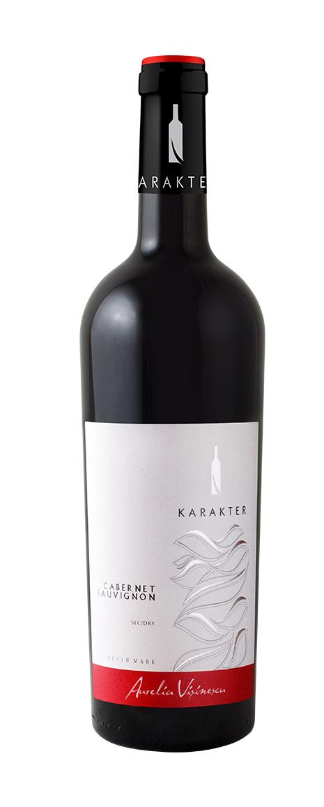 Vin rosu - Aurelia Visinescu / Karakter, Cabernet Sauvignon, 2014, sec Aurelia Visinescu