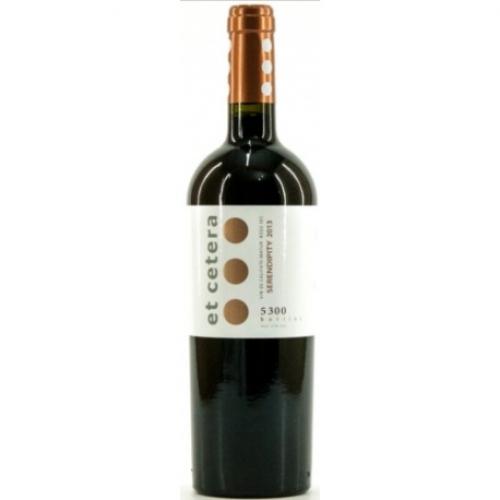 Vin rosu - Et Cetera Serendipity, 2013, sec et cetera