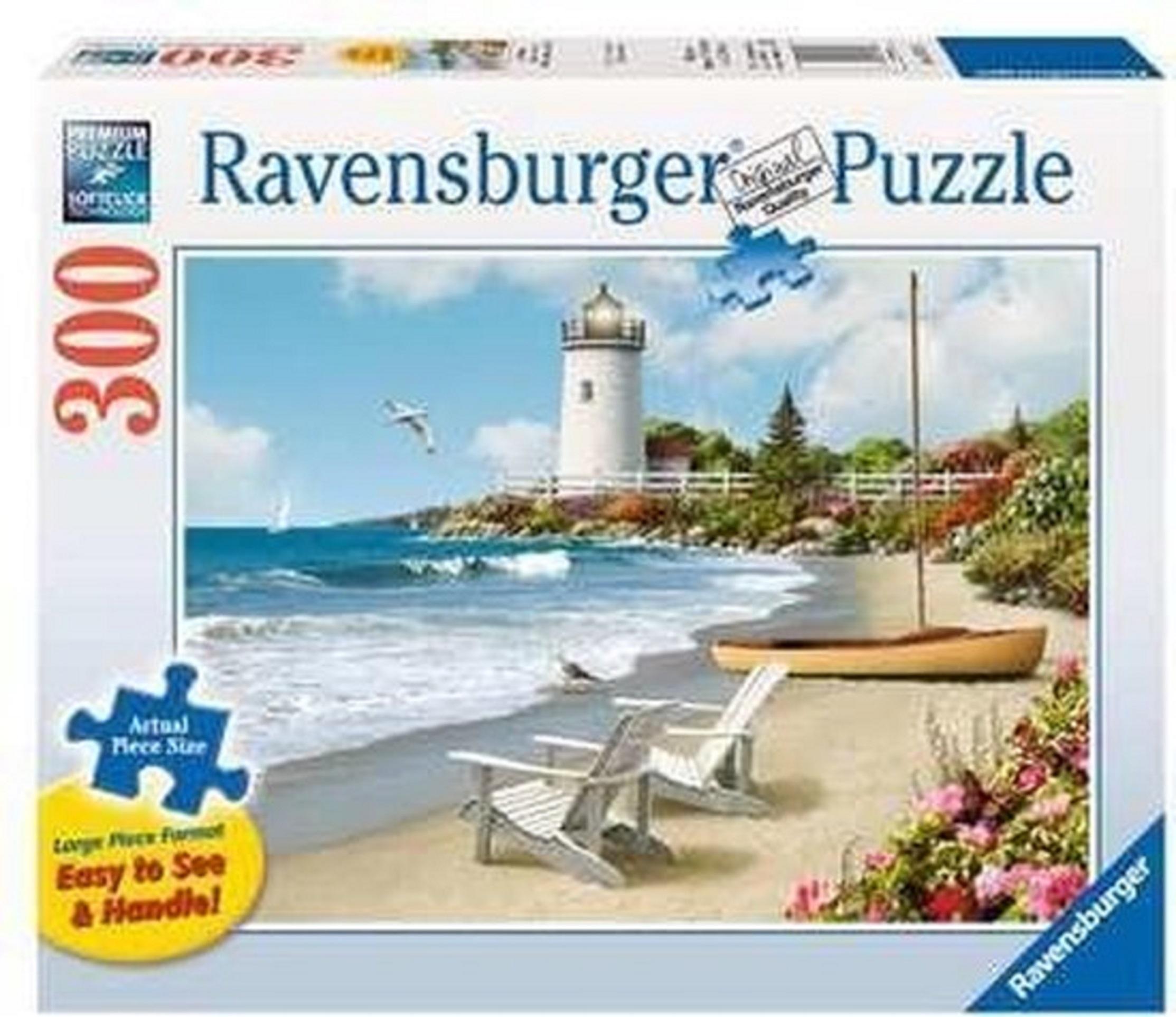 Puzzle 300 piese - Plaja | Ravensburger