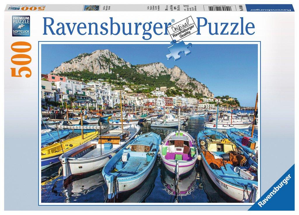 Puzzle 500 piese - Portul Marina | Ravensburger