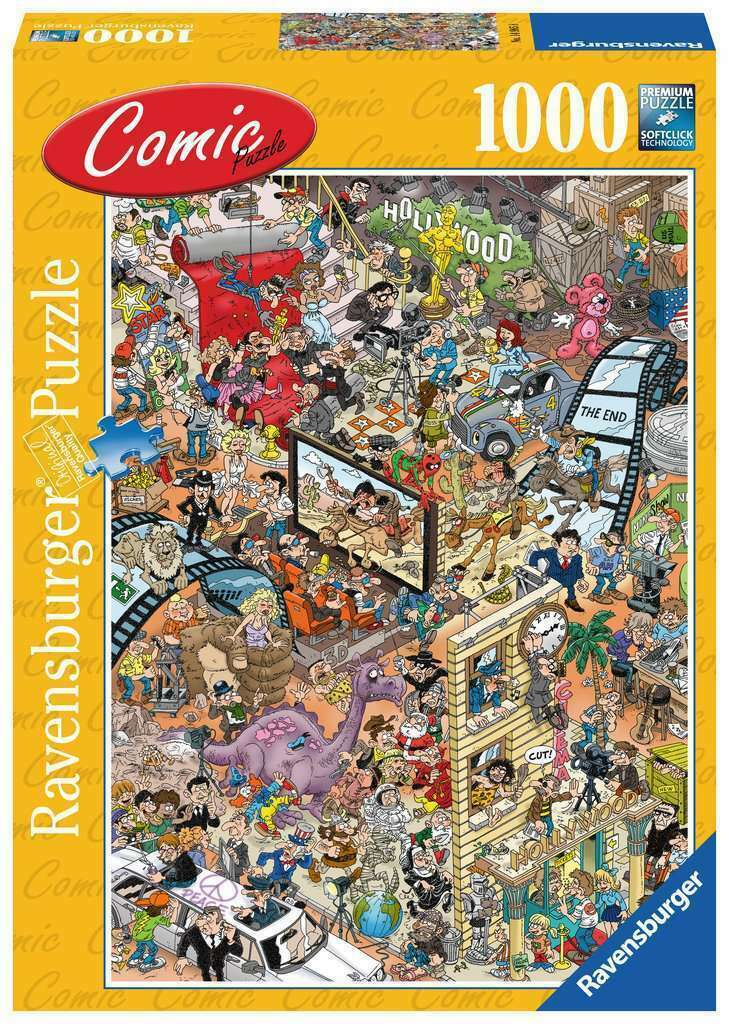 Puzzle 1000 piese - Hollywood | Ravensburger