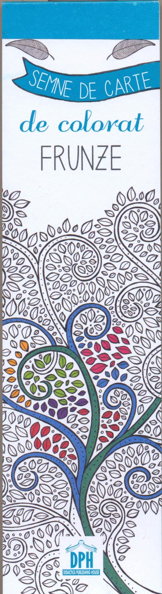 Colorez semnele mele de carte - Frunze