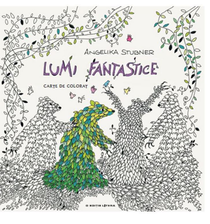 Lumi Fantastice - Carte de Colorat