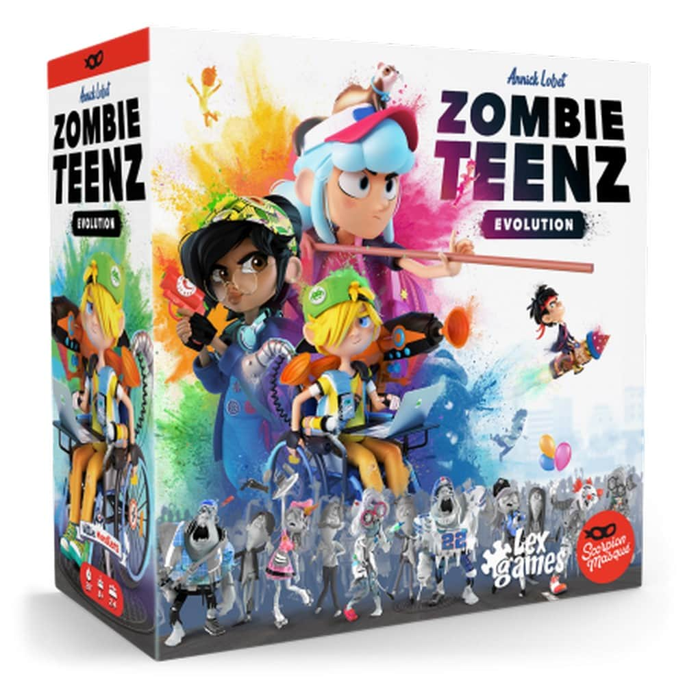 Zombie Teenz Evolution | Lex Games