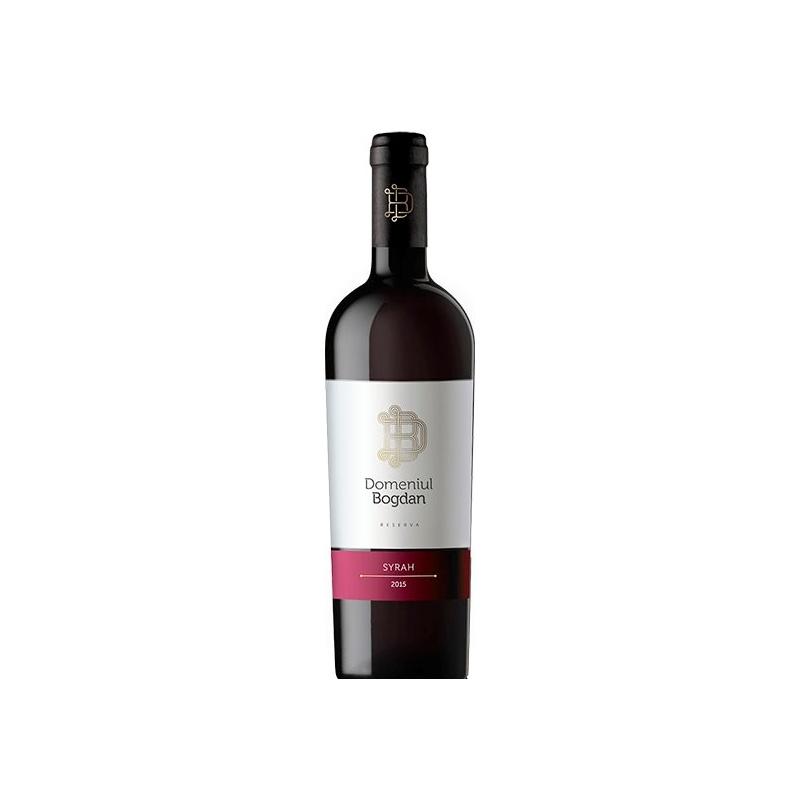 Vin rosu - Reserva - Syrah, 2015, sec Domeniul Bogdan