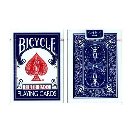 Carti De Joc Bicycle Poker Rider Back Blue | Magic Hub