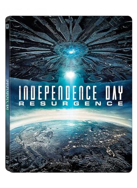 Ziua Independentei - Renasterea 2D+3D SteelBook (Blu Ray Disc) / Independence Day - Resurgence