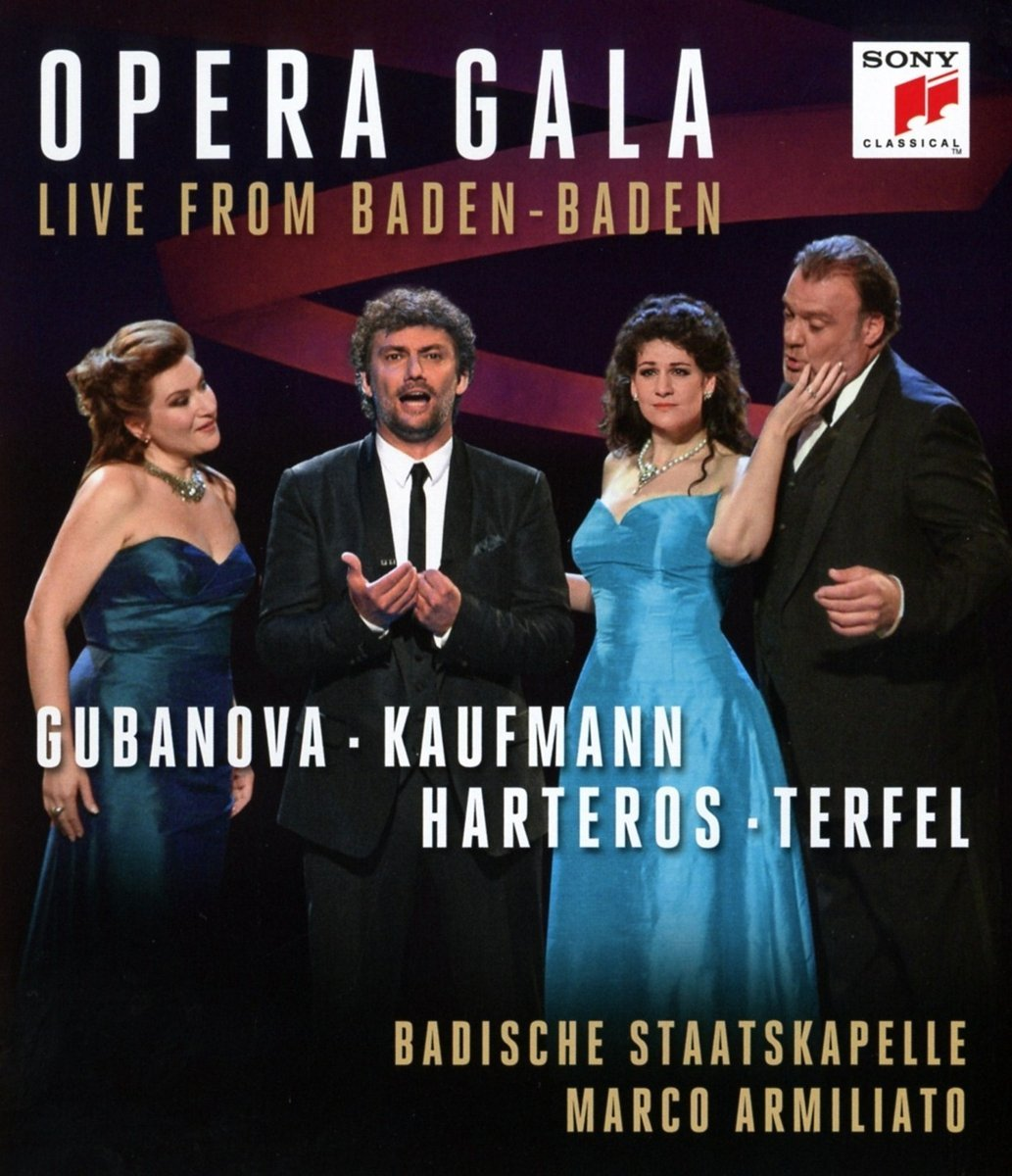 Opera Gala: Live From Baden-Baden Blu Ray Disc