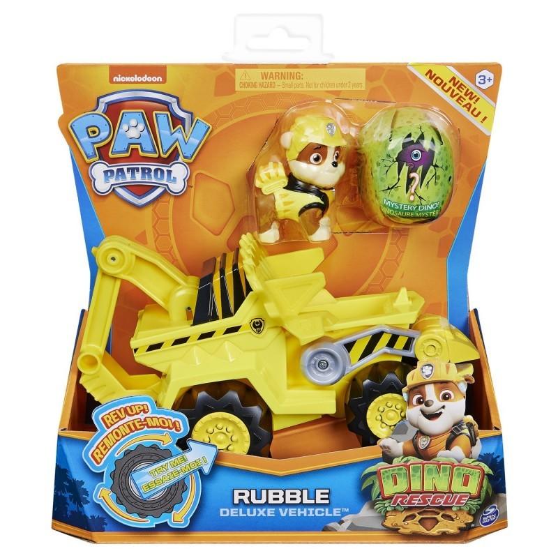 Set vehicul cu figurina - Catelusul Rubble | Spin Master