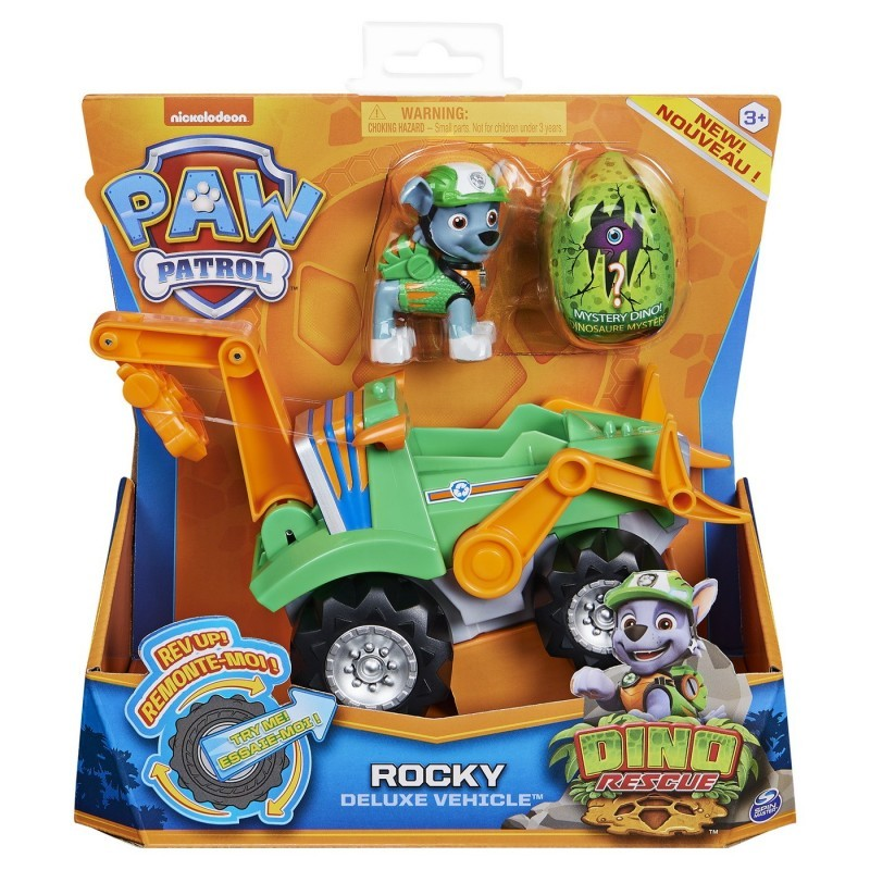 Set vehicul cu figurina - Catelusul Rocky | Spin Master