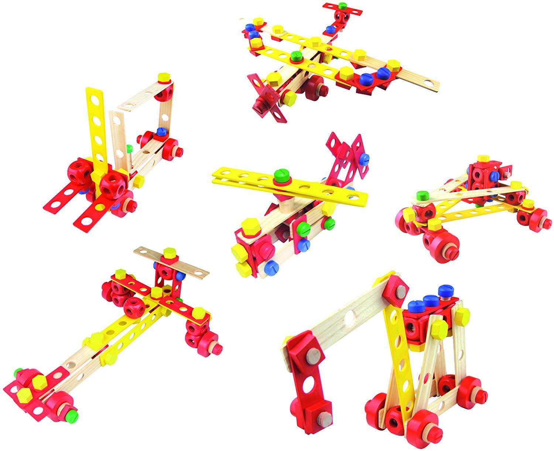 Set de constructie- 100 de piese | Vilac - 2