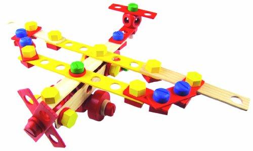 Set de constructie- 100 de piese | Vilac - 3