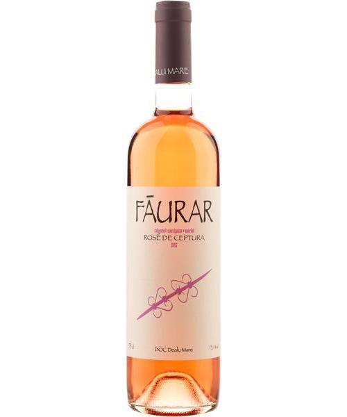 Vin rose - Faurar - Rose de Ceptura, sec, 2017 Davino