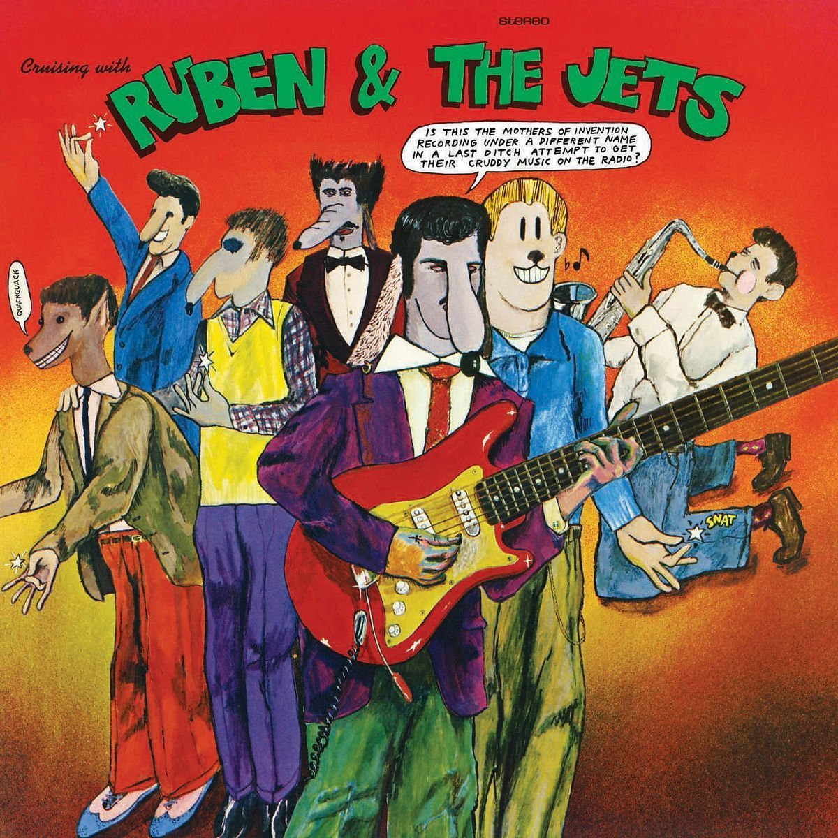 Cruising With Ruben & The Jets - Vinyl