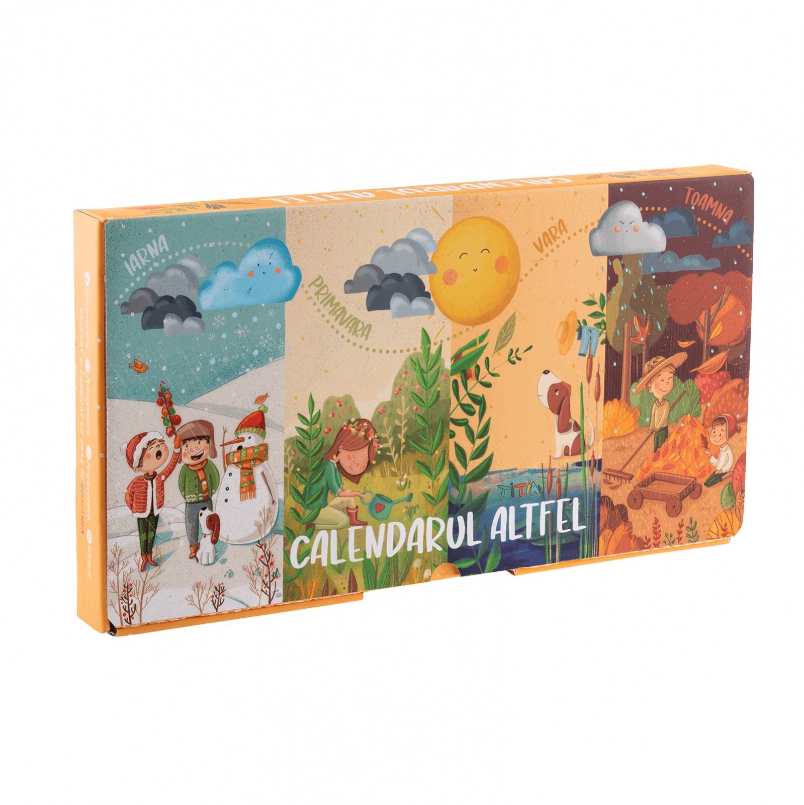 Joc - Calendarul Altfel | Titia