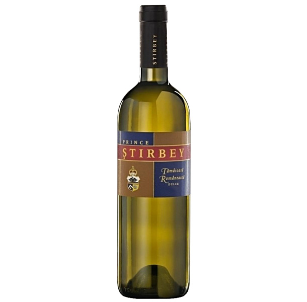 Vin alb - Stirbey, Tamaioasa Romaneasca, 2016, dulce Domeniile Stirbey